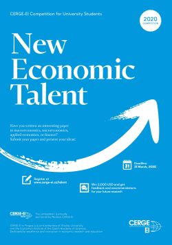 CERGE Poster New Economic Talent A3 ENG