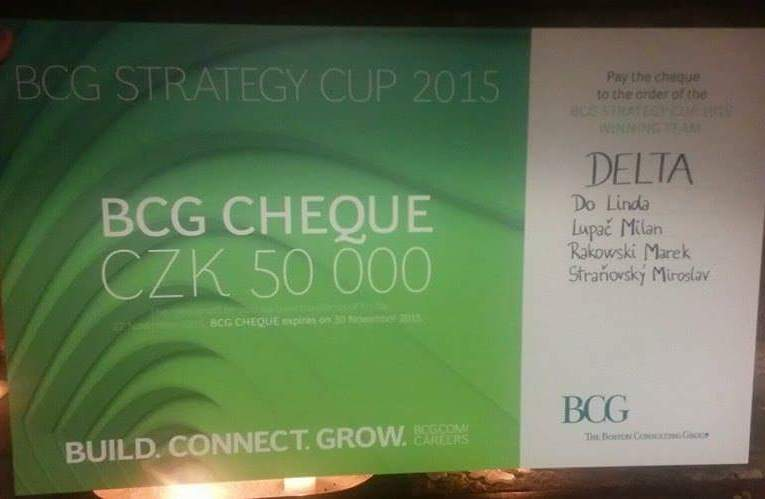 MA in Applied Economics students won BCG Strategy Cup!