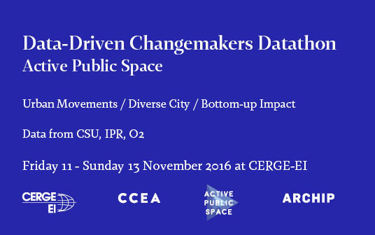 Data-Driven Changemakers Datathon 2016
