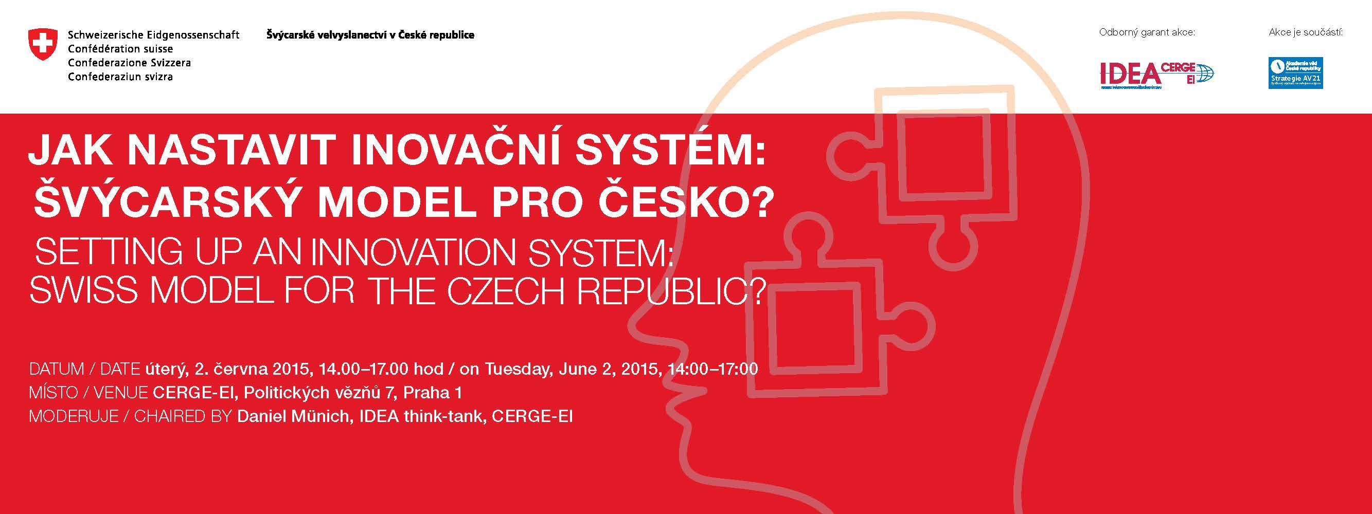 Setting Up an Innovation System: Swiss Model for the Czech Republic?